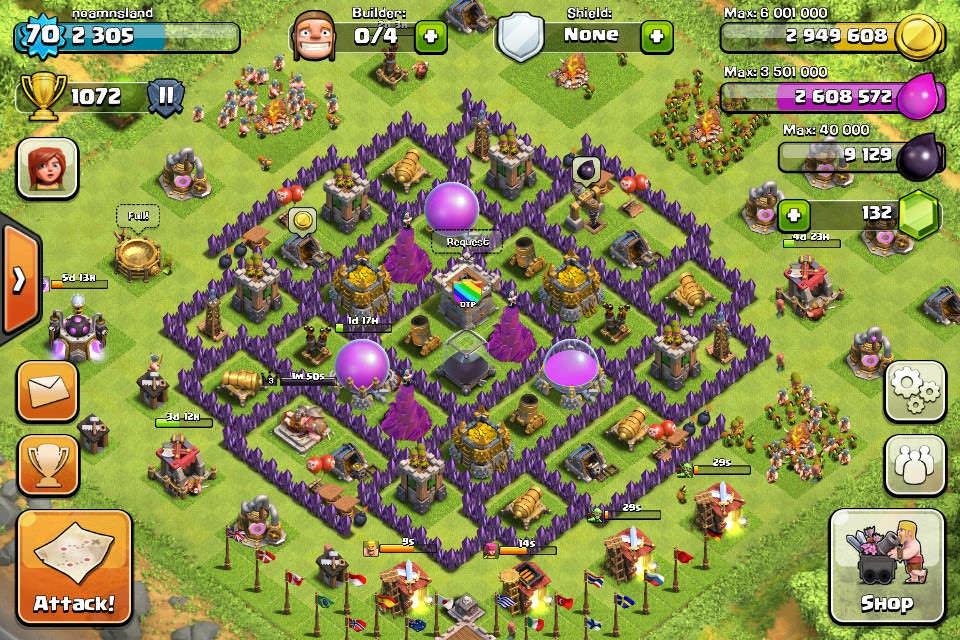 Clash of Clans Base of The Week 4-1-14
