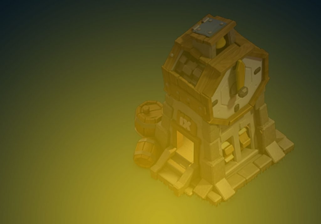 Clash of Clans Clock Tower