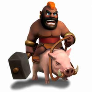 Clash of Clans Hog Rider