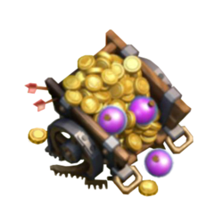 Clash of Clans Loot Cart Icon