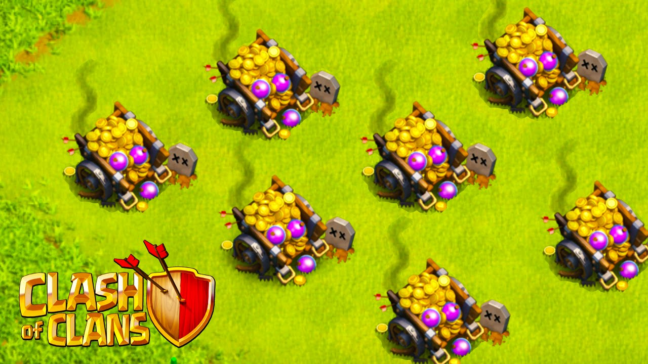 Clash of Clans Loot Cart