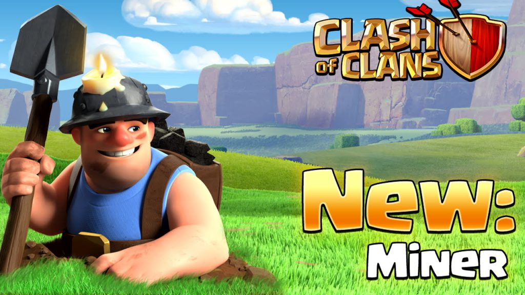Clash of Clans New Miner Banner