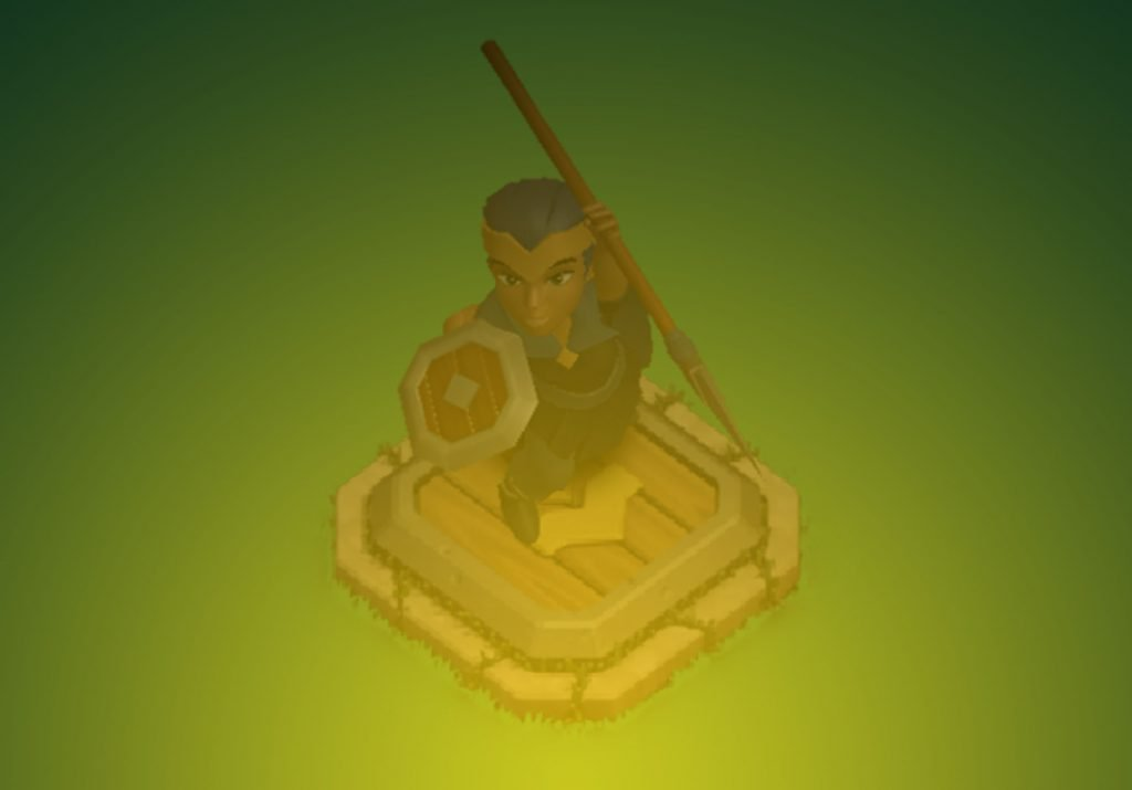 Clash of Clans Royal Champion Altar