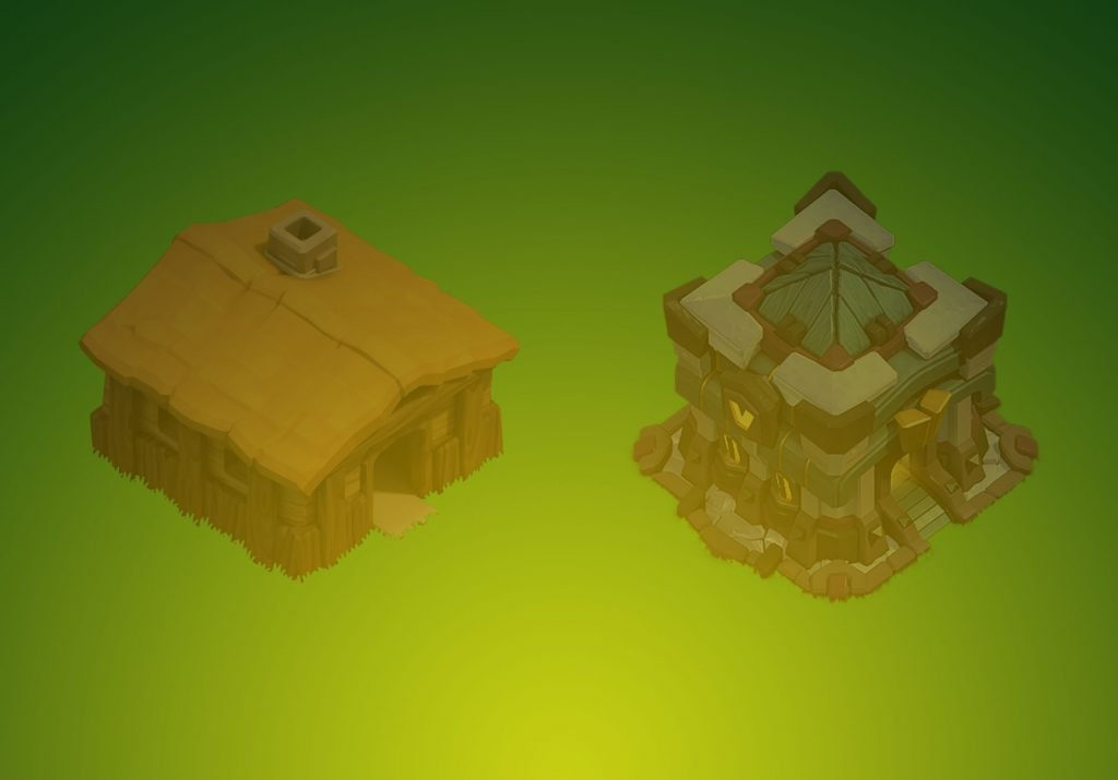 Clash of Clans Town Hall Home Village