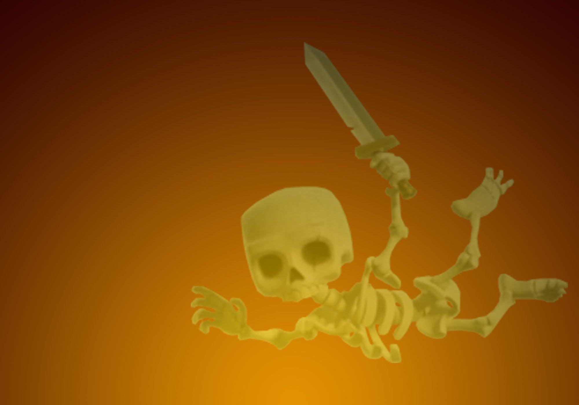 Clash of Clans Drop Ship/Skeleton