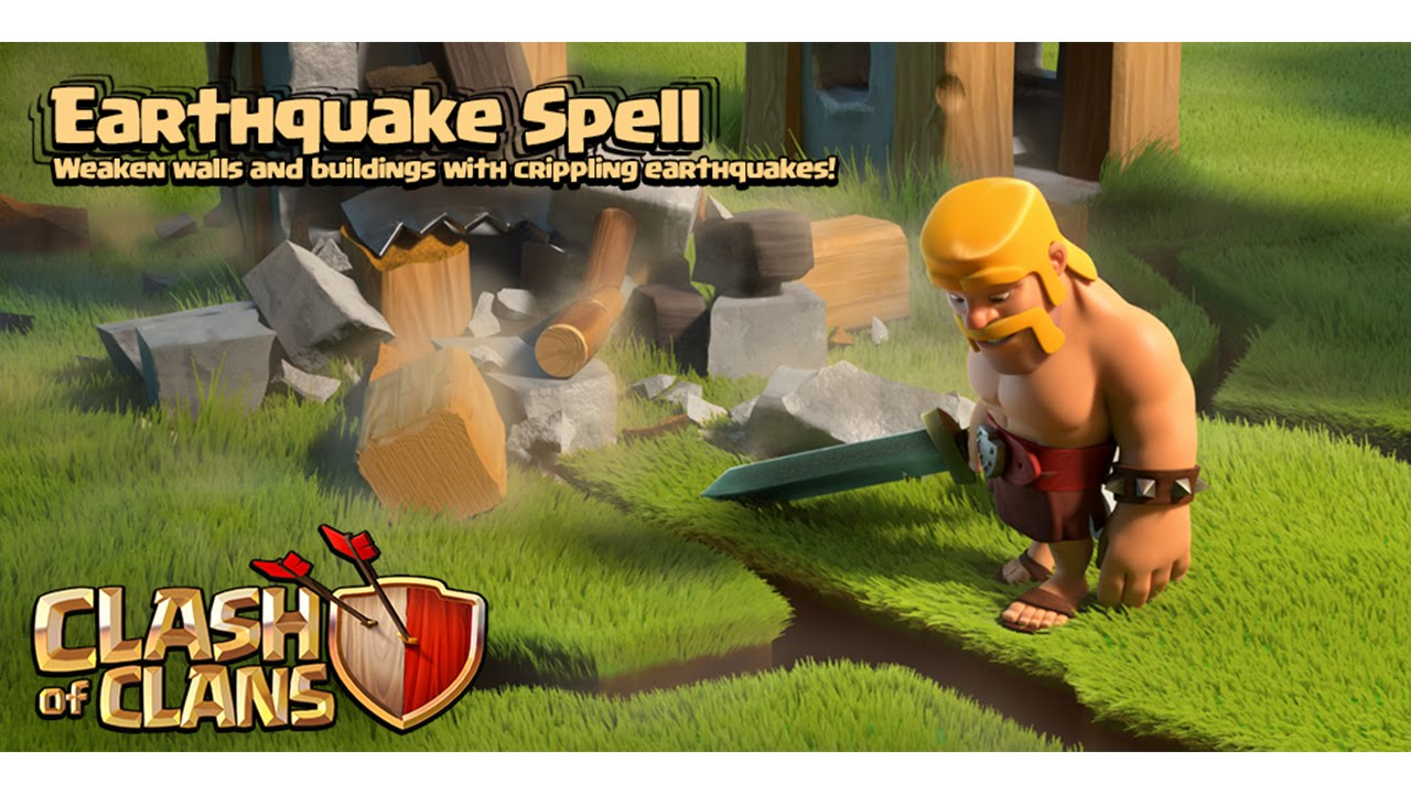 Clash of Clans Earthquake Spell