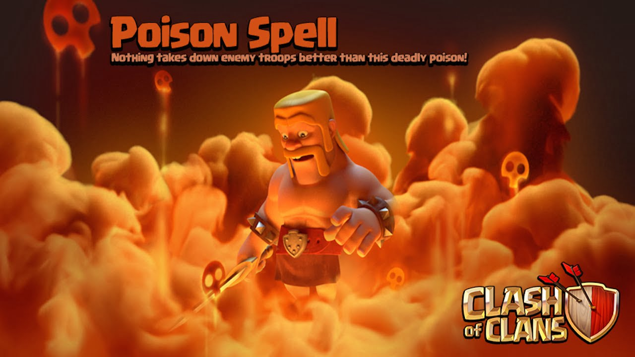 Clash of Clans Poison Spell Banner