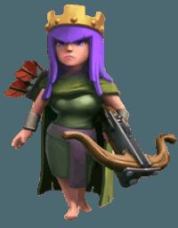 Clash of Clans Archer Queen Hero