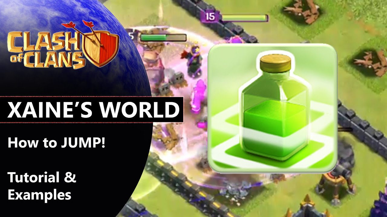 How to use Jump | Clash of Clans Tutorial Video
