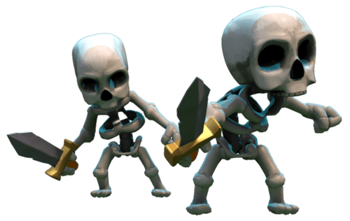 Clash of Clans Dark Elixir Troops