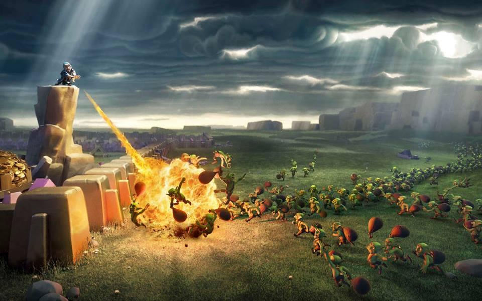 Clash of Clans Defensive Buildings