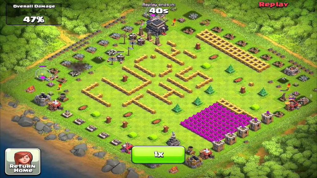 Clash of Clans Funny Base 2