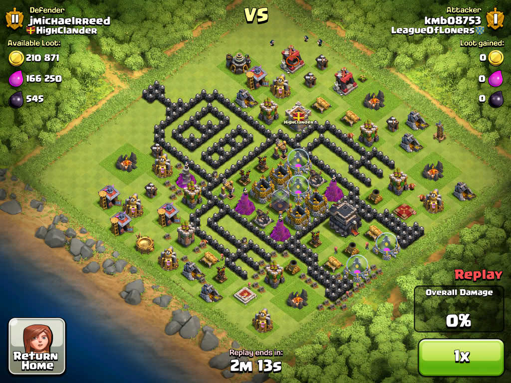 Clash of Clans Funny Base 3