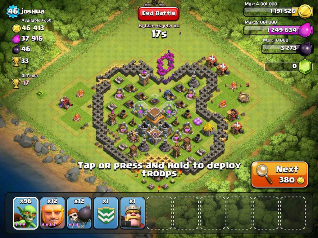Clash of Clans Funny Base 4