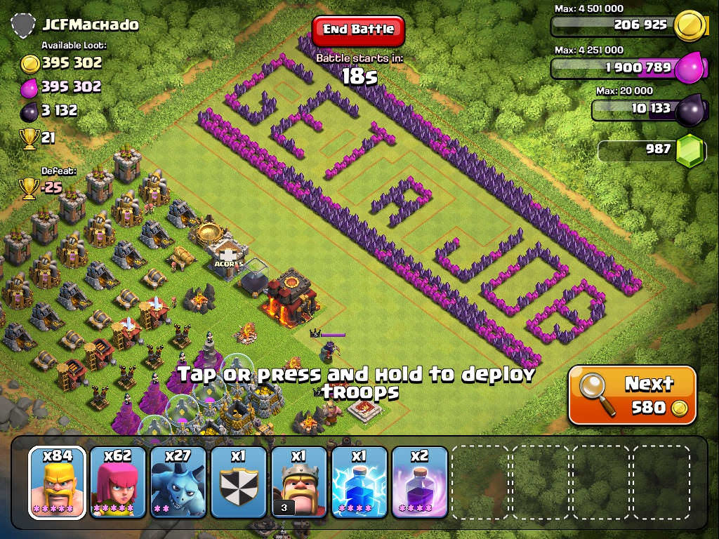 Clash of Clans Funny Base 5