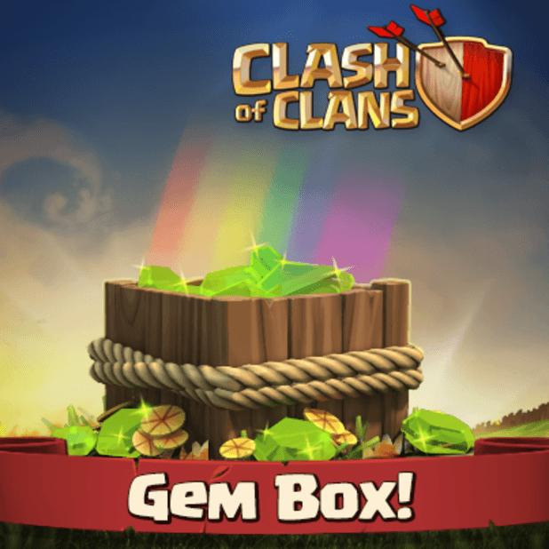 Clash of Clans Gem Box