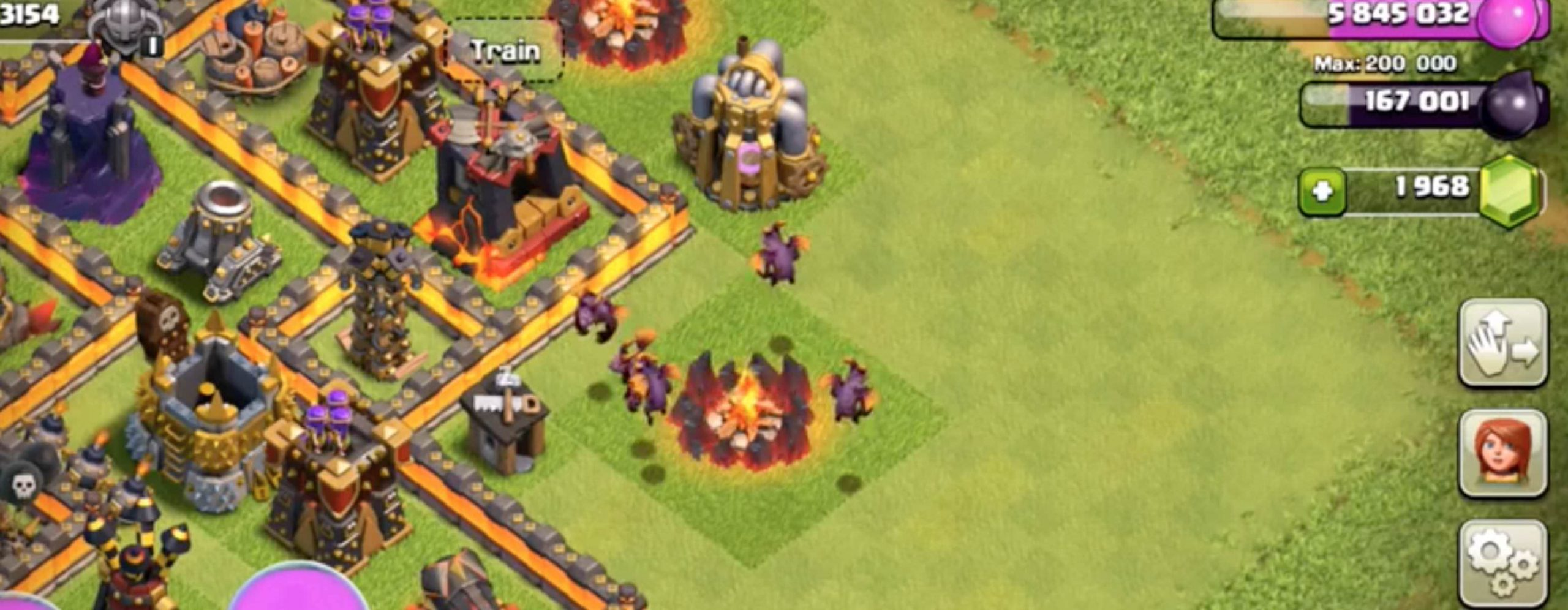 Clash of Clans Level 7 Minions Update