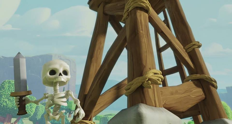 Clash of Clans Skeleton