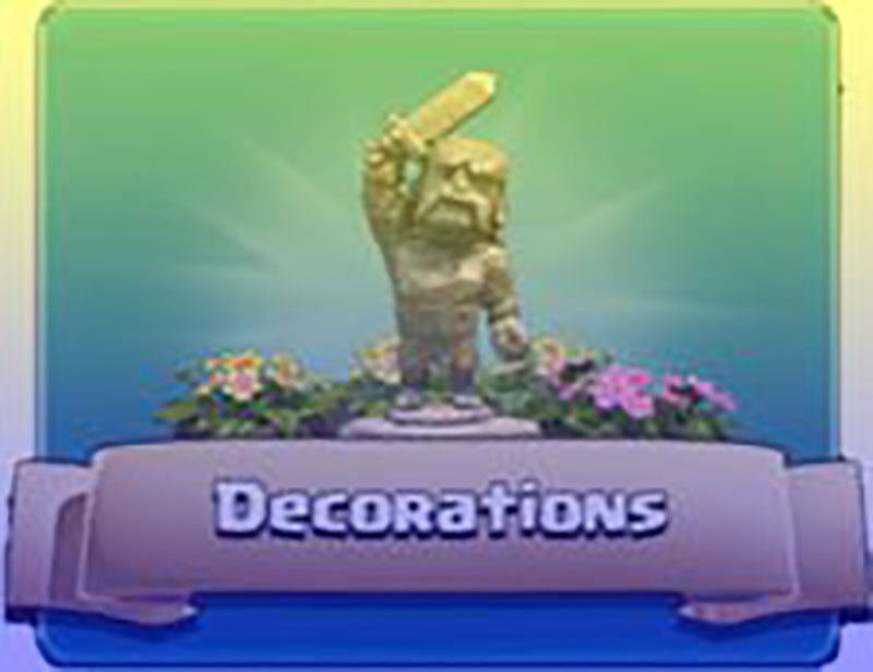 Clash Of Clans Decorations
