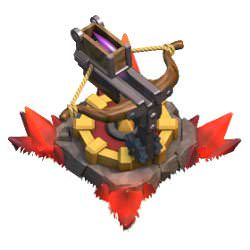 Clash of Clans X-Bow Level 4