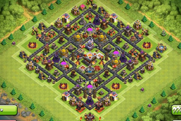 Clash of Clans Town Hall Level 11 Farming Base Design