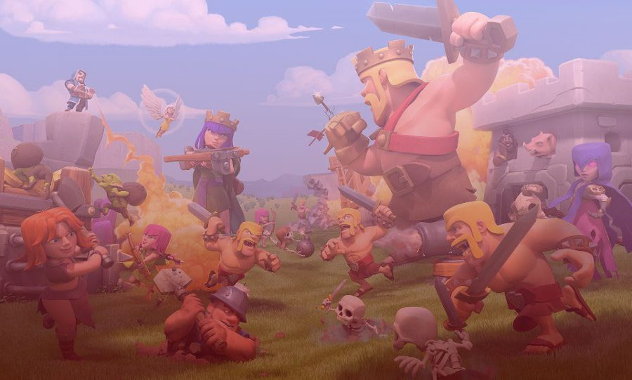 Clash of Clans Town Hall Header