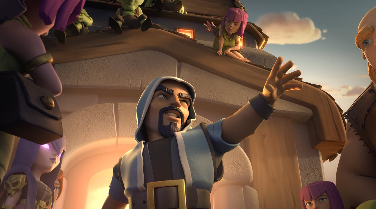 Clash of Clans Eight Clans Enter One Clan Leaves